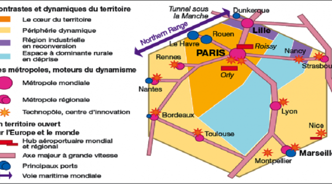 3G4 : Aménager le territoire français pour réduire les inégalités croissantes